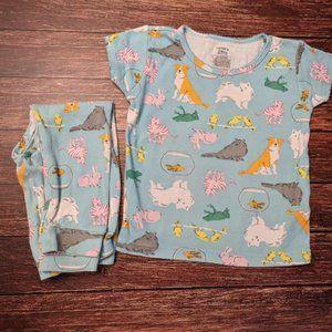 Animal Pet Dog Cat Goldfish Frog Pajamas